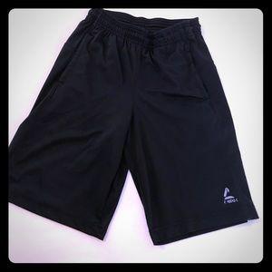 Reebok boys athletic shorts with pockets
